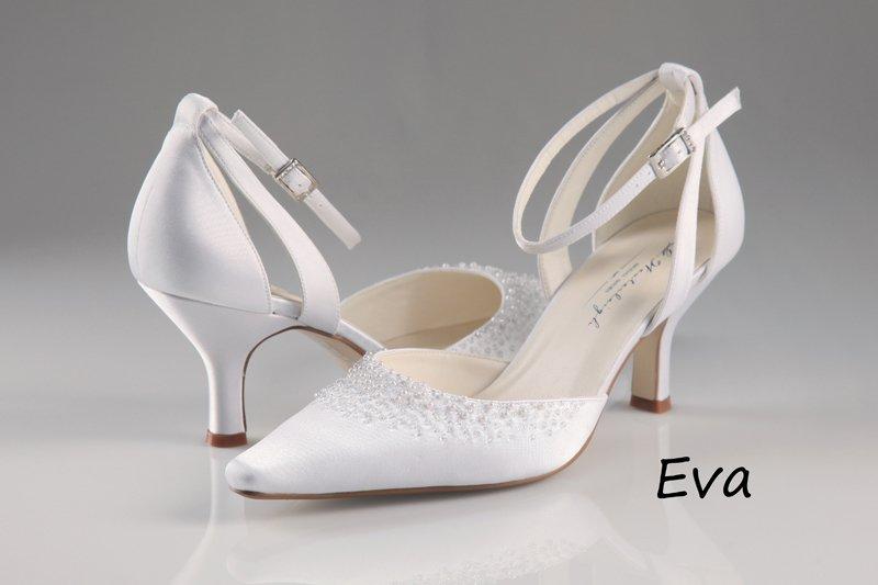 AceShoes - Esküvői cipő szatén aa4bc51735